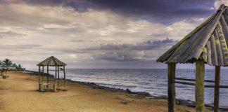 Puducherry beach, Pondicherry, India, Solo trip to Pondicherry
