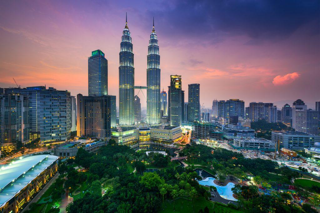 City skyline, Kuala Lumpur, Malaysia