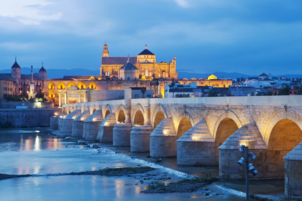 The Mezquita Cathedral In Cordoba is one of the best places to visit in Spain