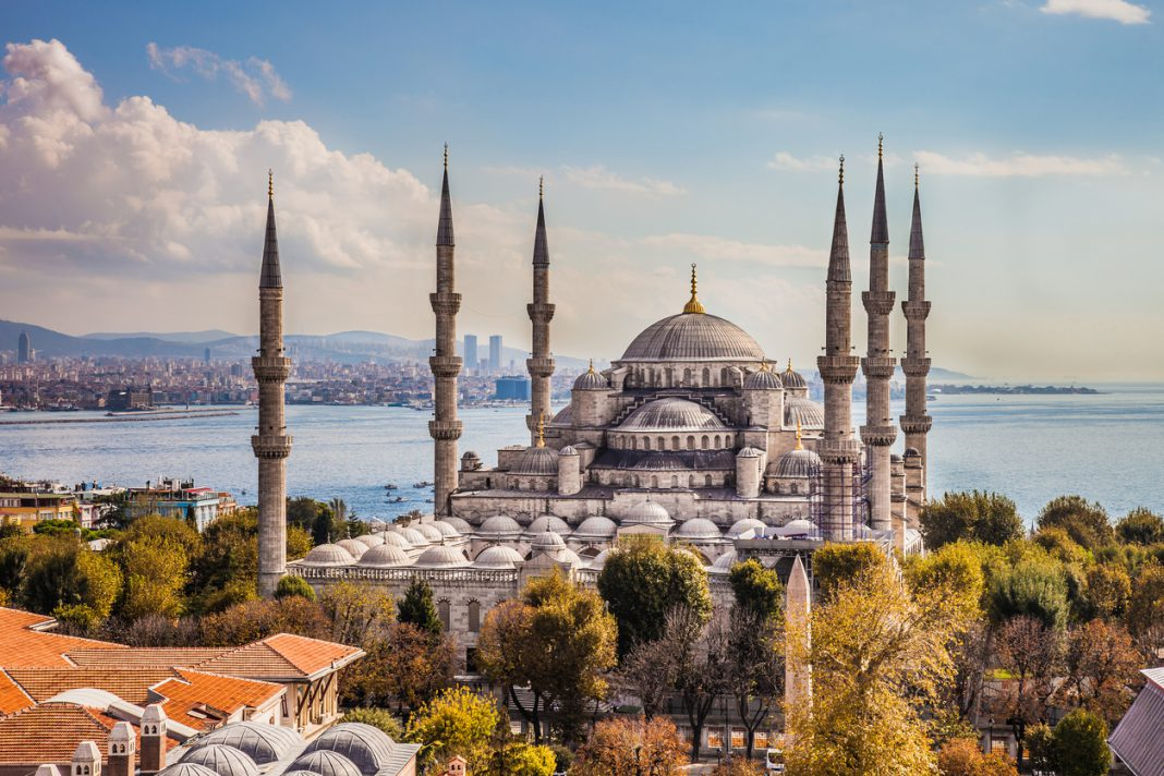 Sultan Ahmet or Blue Mosque in Istanbul, Turkey, Beautiful Mosques