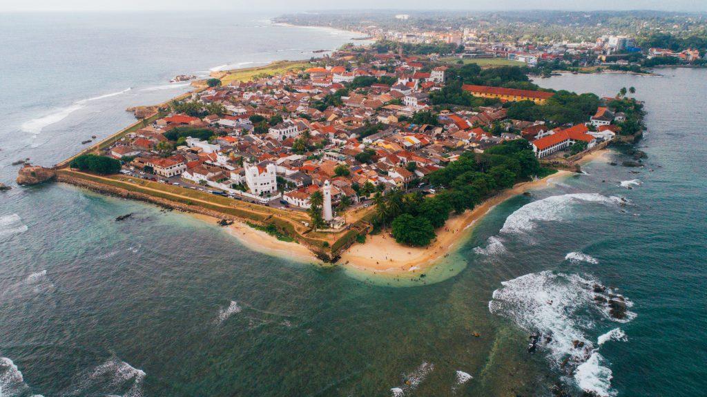 Galle Fort in Sri Lanka sri lankan visa