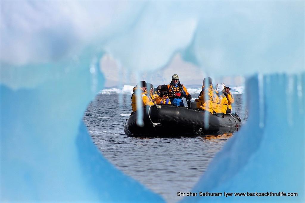 Antarctica-ZodiacScapes-Bidding goodbye