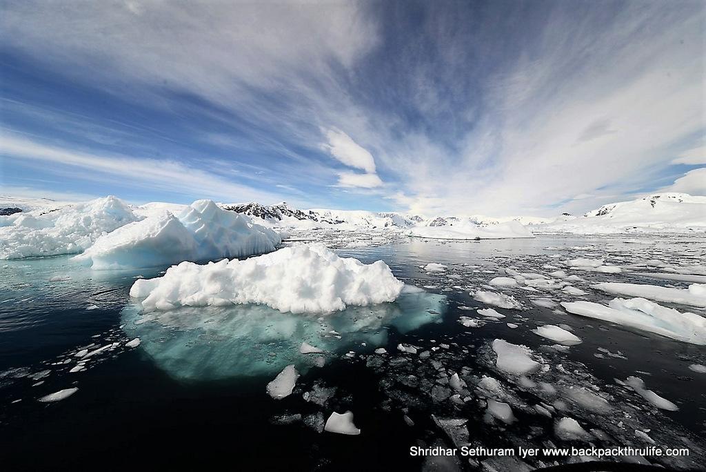 Antarctica-Skyscapes