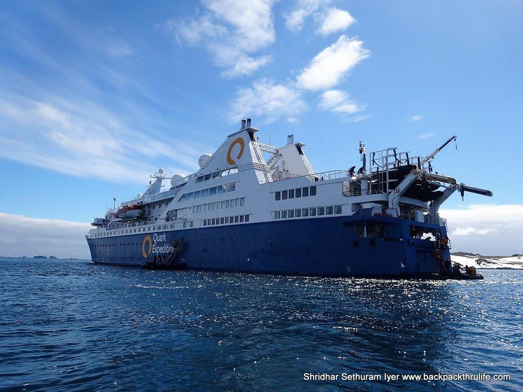 Antarctica-ShipScapes -First Zodiac