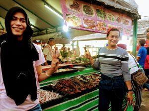 Sabahans at a local market