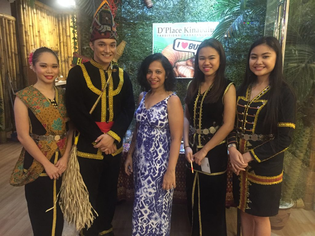 Sabahans with their traditional wear