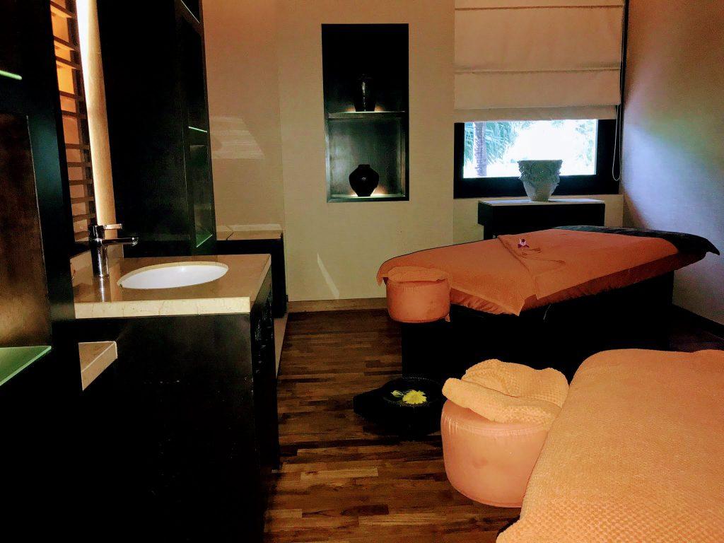 Spa room in Shangri-La Rasa Ria, Sabah