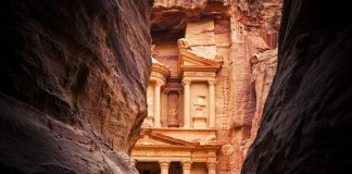 Entrance to the city of Petra