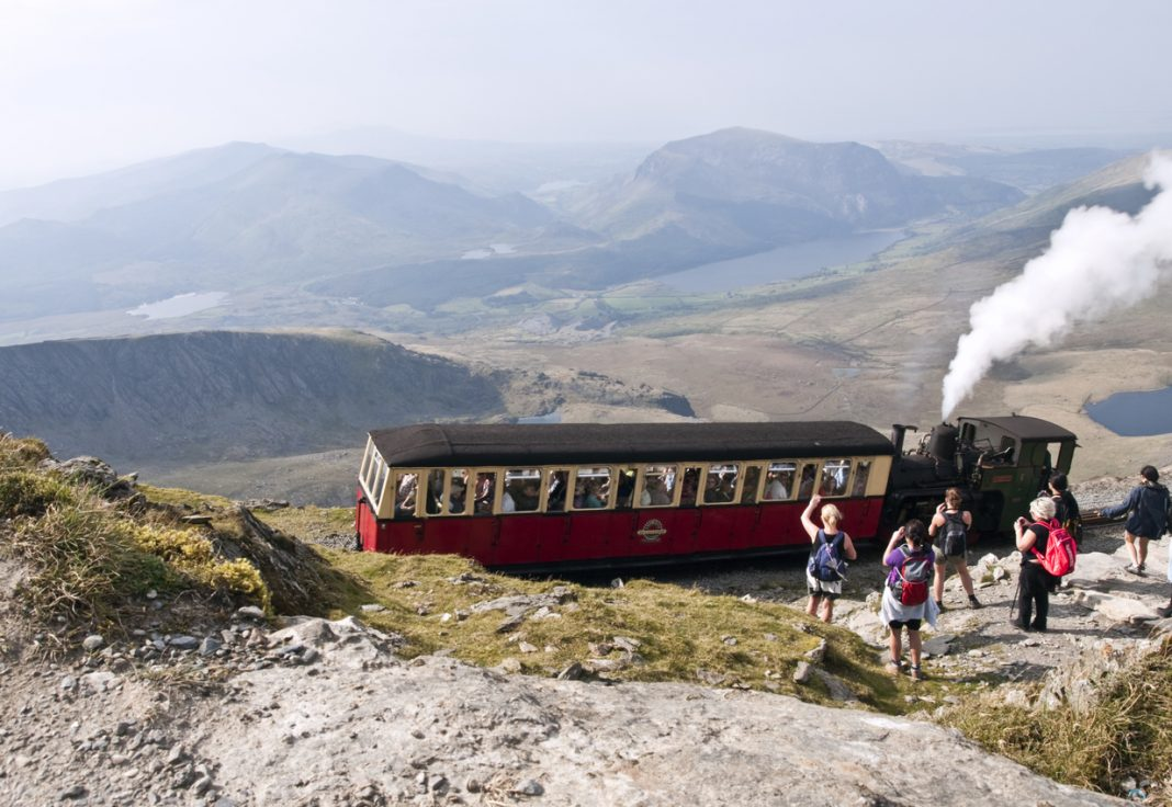 Mount Snowden in Snowdonia national park, things to do in snowdonia