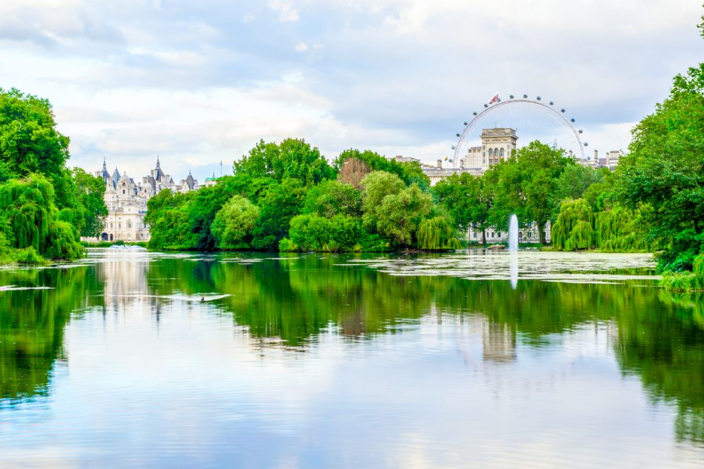 St. James Park in London, did you know facts