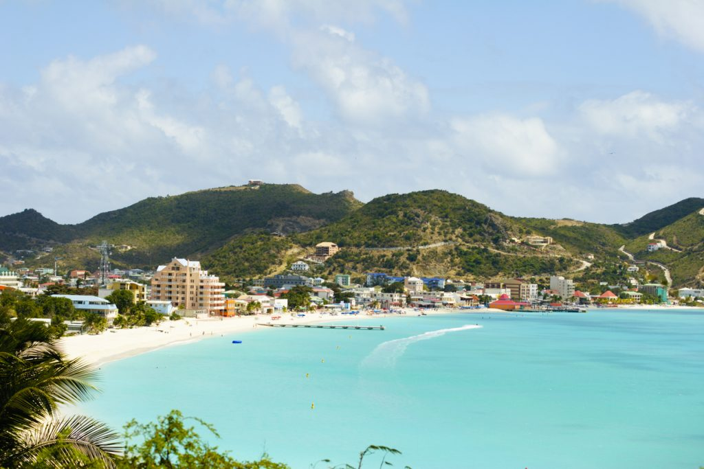 Beautiful St. Maarten-St. Martin beach inlet at Philipsburg, fun facts about the Caribbean