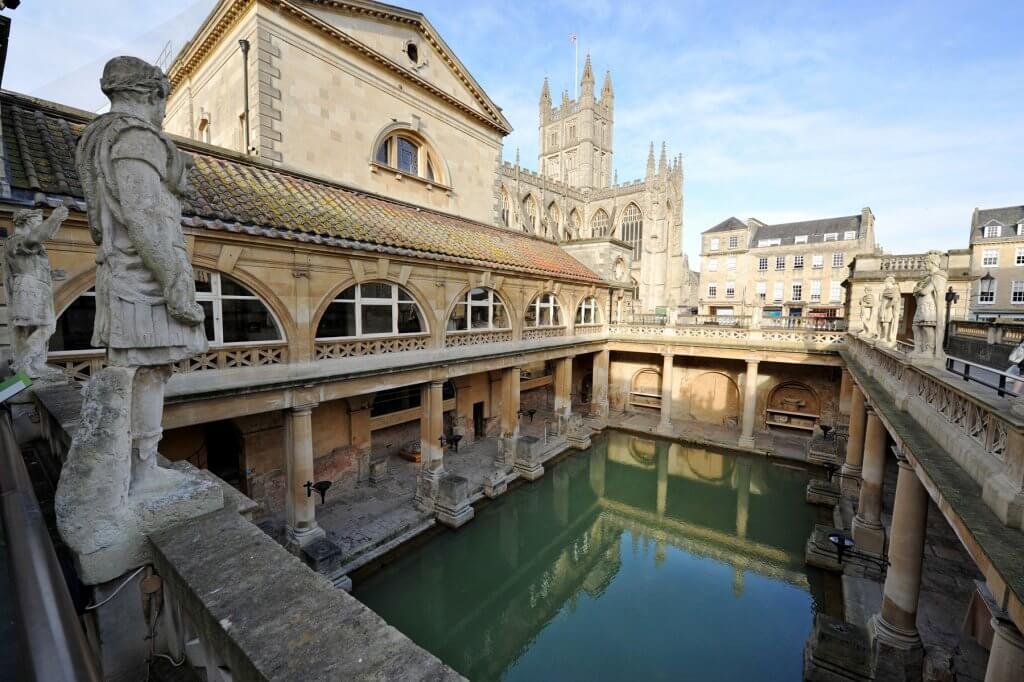 The Ancient Roman Baths in Bath
