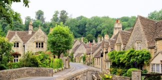 A village in the Cotswolds