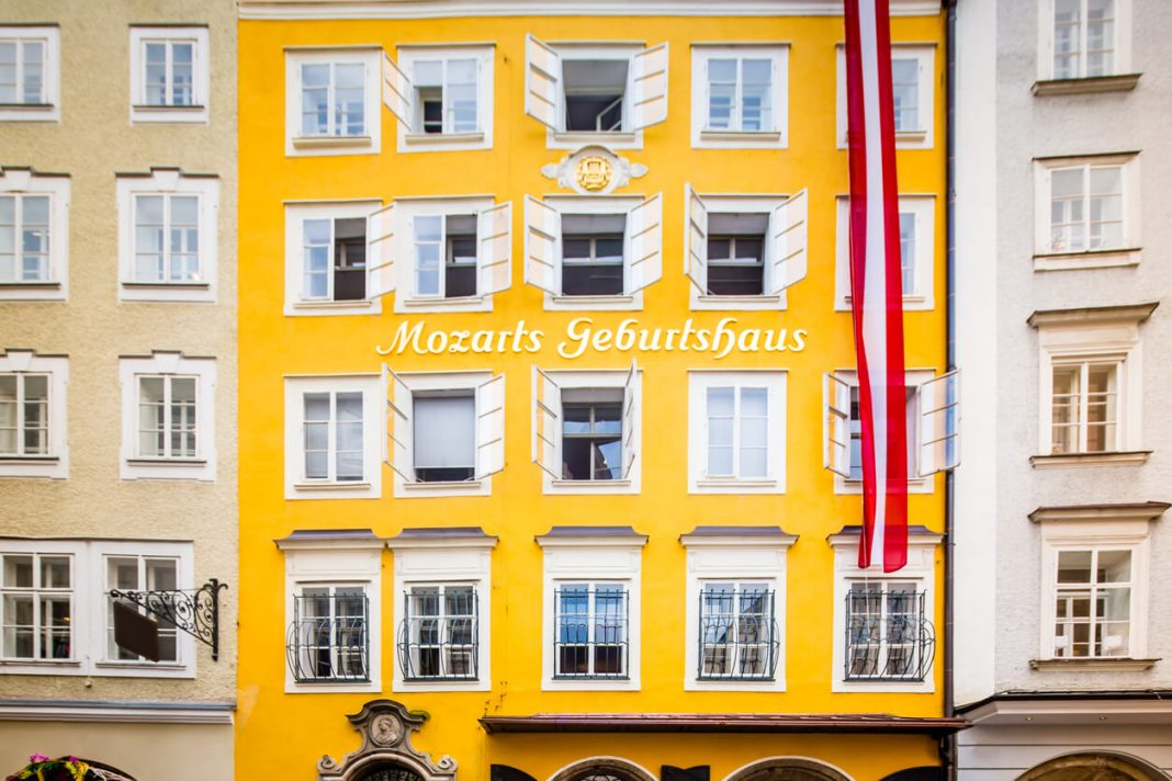 Birthplace Wolfgang Amadeus Mozart, Salzburg, Austria