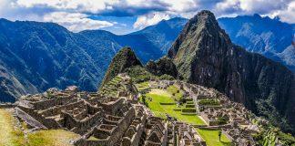 Machu Picchu airport in Peru