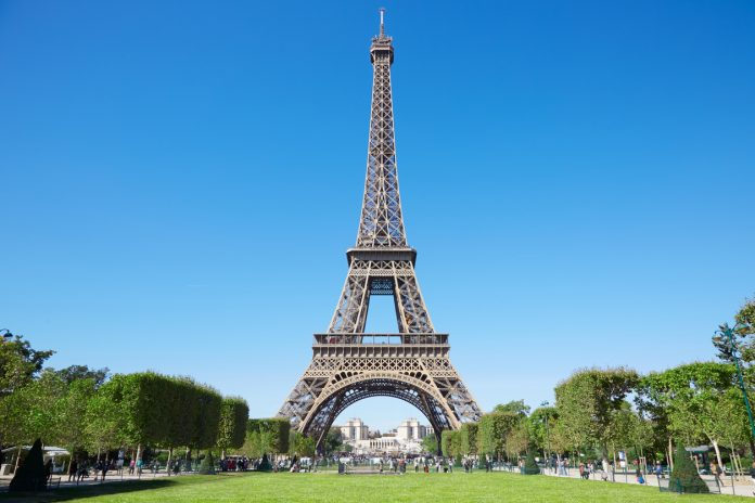 The Eiffel Tower in Paris famous buildings around the world