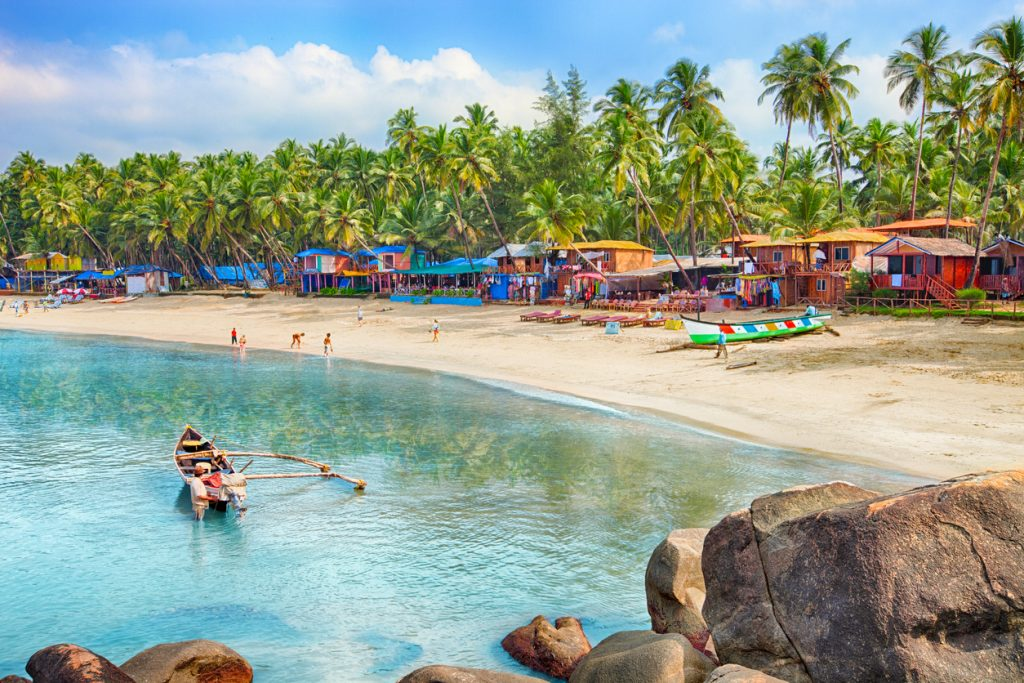 Beautiful Goa province beach in India places to visit in Goa, Natural Things to see in goa, beaches in south goa