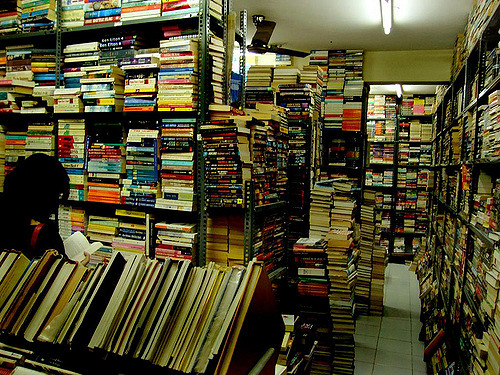 Blossom Book House is among the unique places to visit in Bangalore