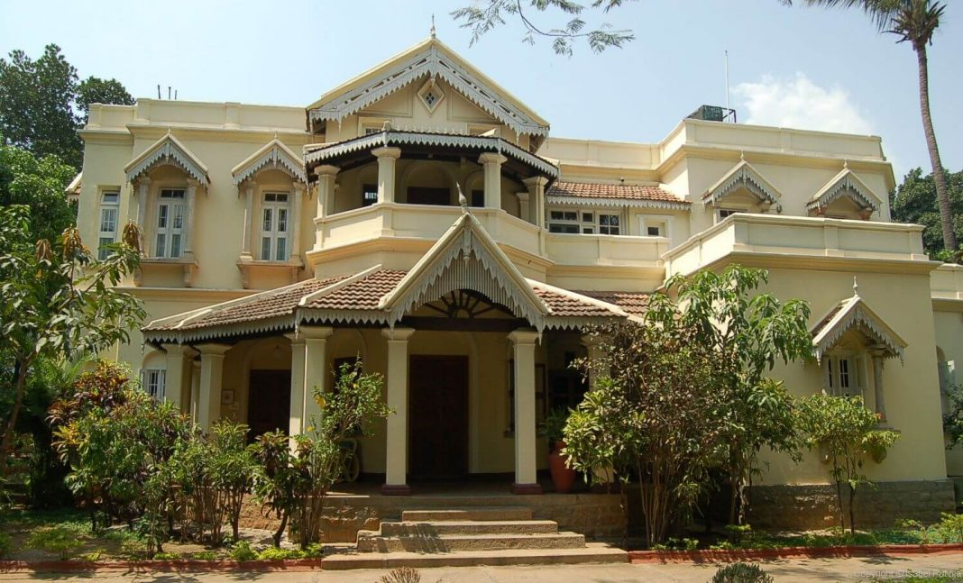 The Pottipati house in Bangalore, now a heritage hotel