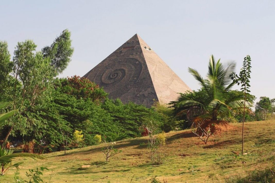 Pyramid Valley is an unknown place to visit in Bangalore