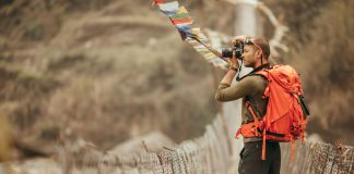 Nepal man photography