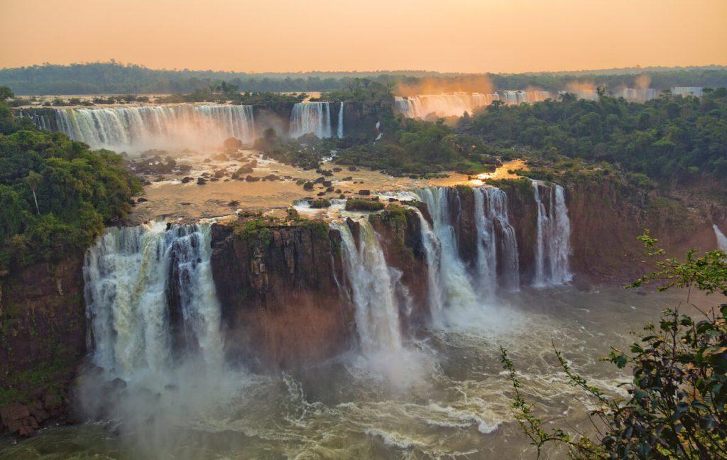 The stunning Iguazu Falls Argentina