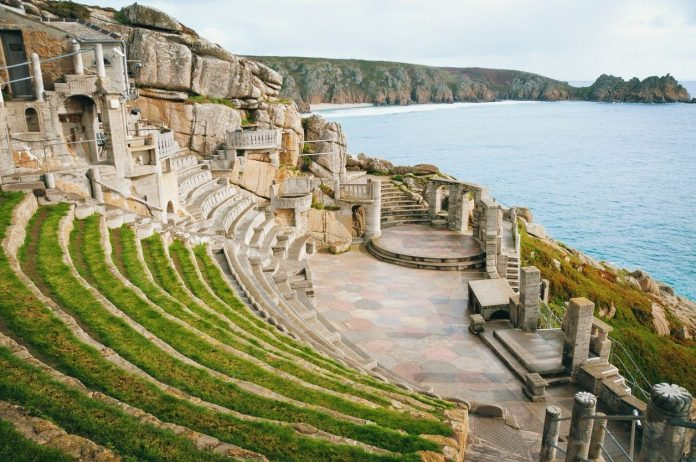 The Minack Theater Cornwall