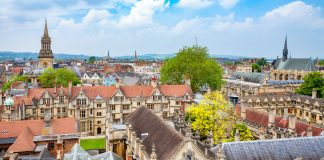 Oxford Ariel View day trips from london