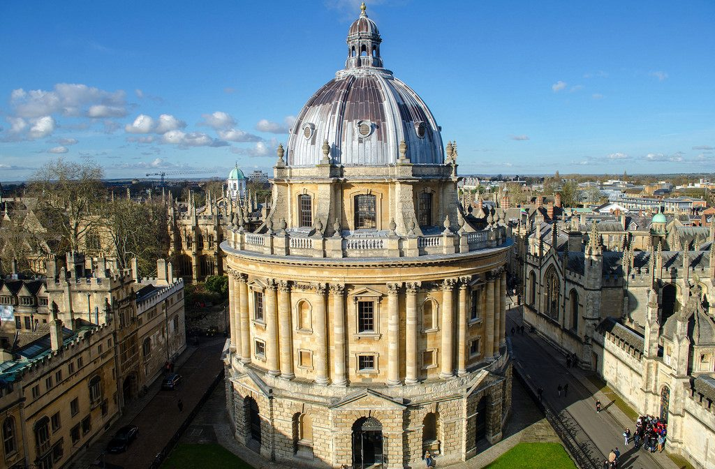 The imposing Radcliffe Camera Oxford