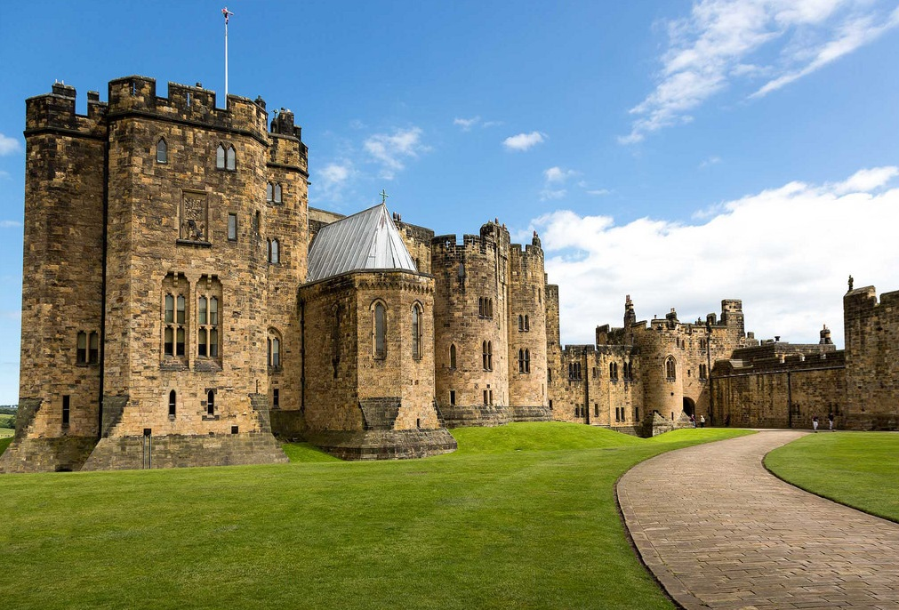 Alnwick Castle. england, Hogwarts Harry Potter