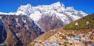 Namche Bazaar village, Everest region, Nepal