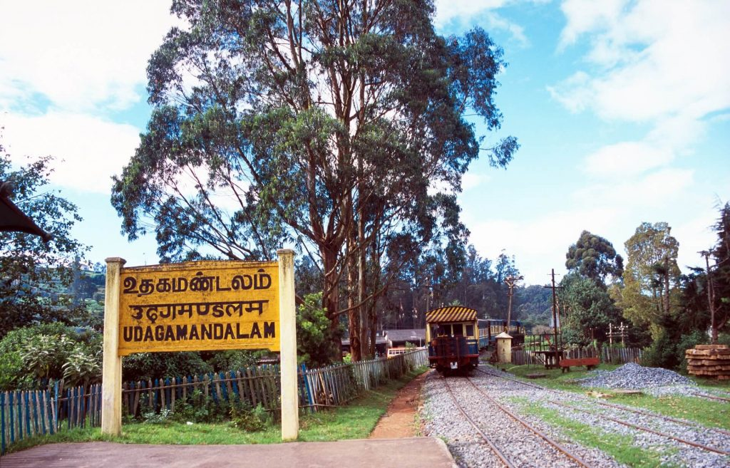 The Nilgiri Mountain train, declared a Heritage Site by UNESCO
