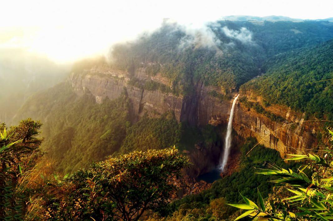Nohkalikai, famous Falls in Meghalaya