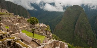 Sun Temple at Machu Picchu, Peru