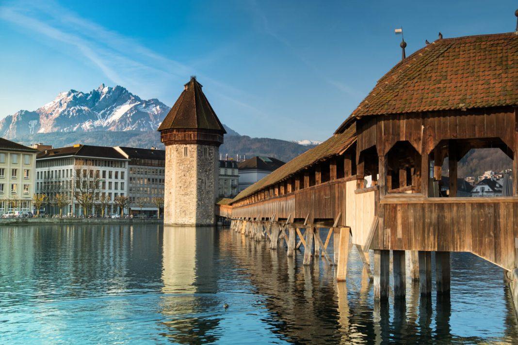 The Kapellbrücke bridge in Lucerne is totally free