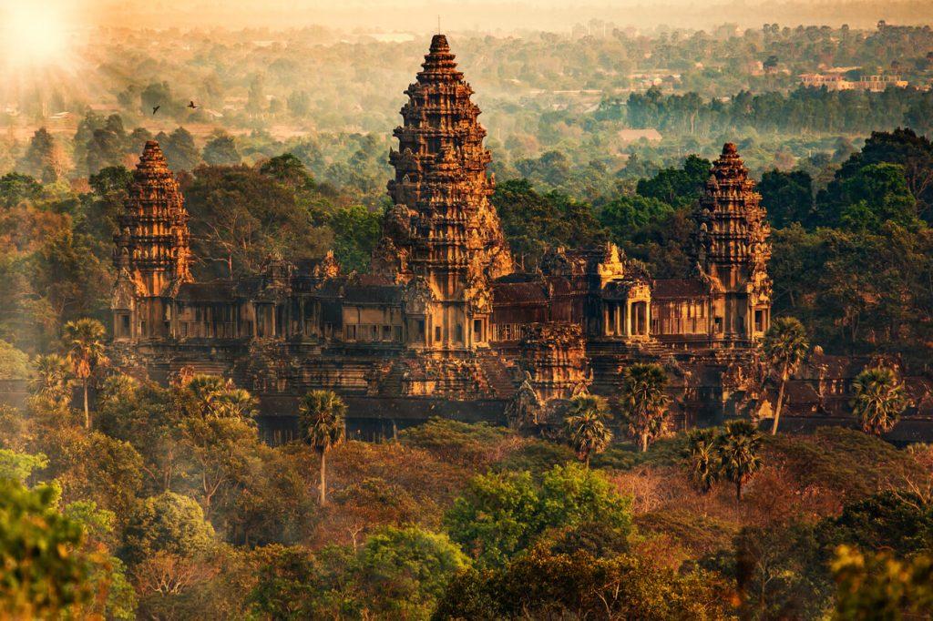 Angkor Wat, Cambodia, Hindu Temples, Budget Destinations