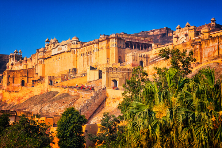 Amer Fort places to see in Rajasthan