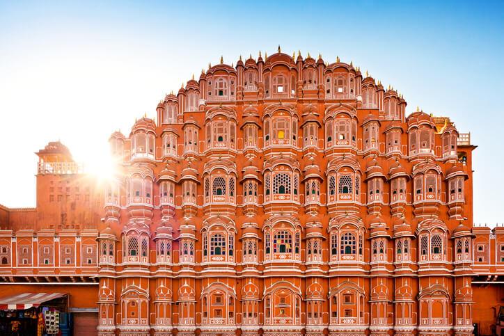 Jaipur's famous Hawa Mahal
