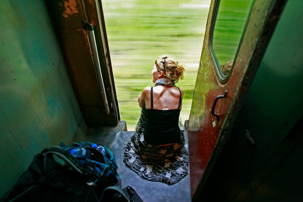 Slow travelling by train - sustainble tourism practices