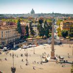 Piazza del Popolo Transforms Into Tennis Court for Italian Open