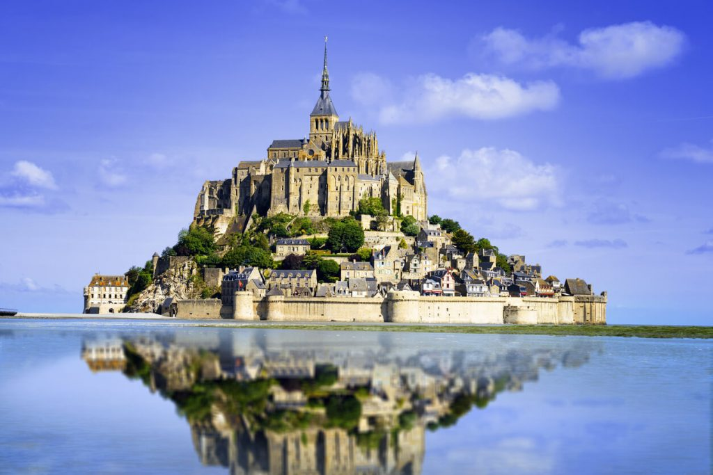 mont saint michel normandy, day trips from france