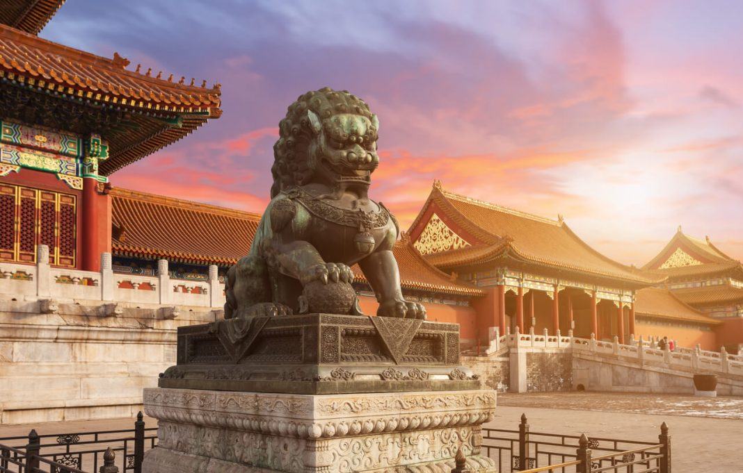 The Forbidden City in Beijing was once off-limits to the public