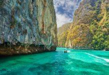 Phi Phi island, Krabi Province, Thailand