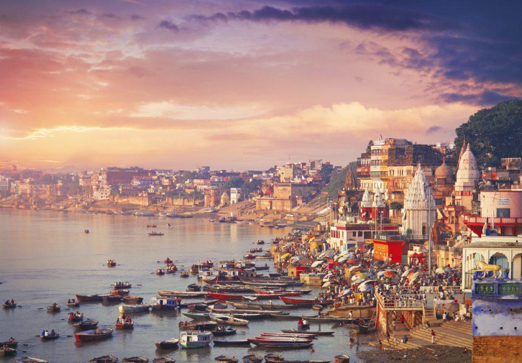 the most beautiful cities in india, Varanasi Ghat