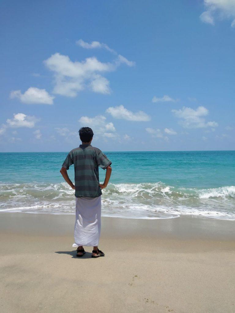 Dhanushkodi Beach,Rameswaram