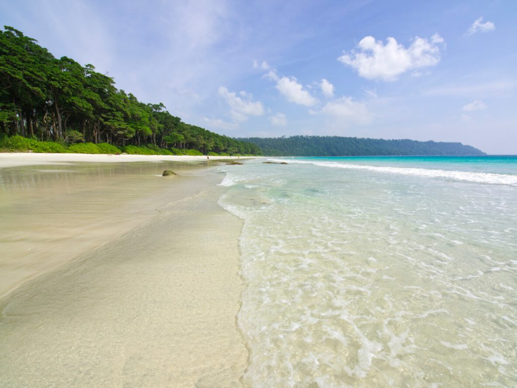 Radhanagar beach, Andaman (Havelock) islands
