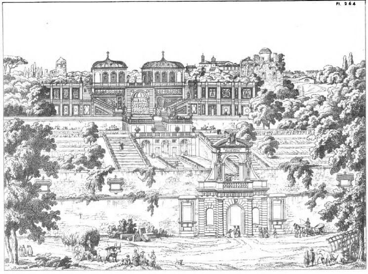 Farnese Gardens, Rome secret garden