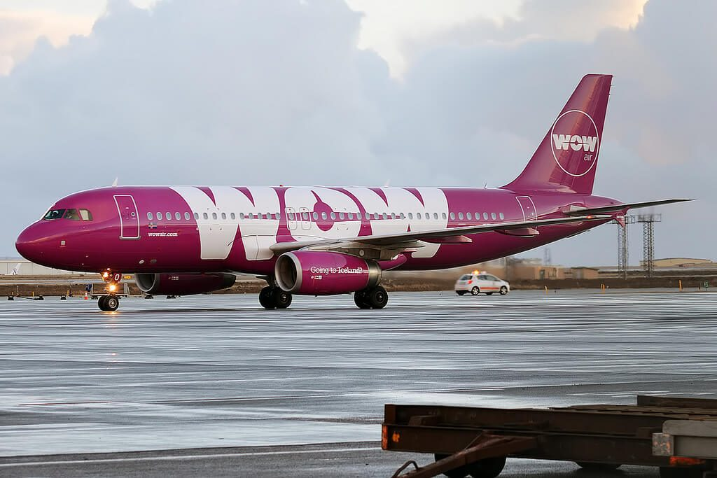 The Iceland-based WOW Air