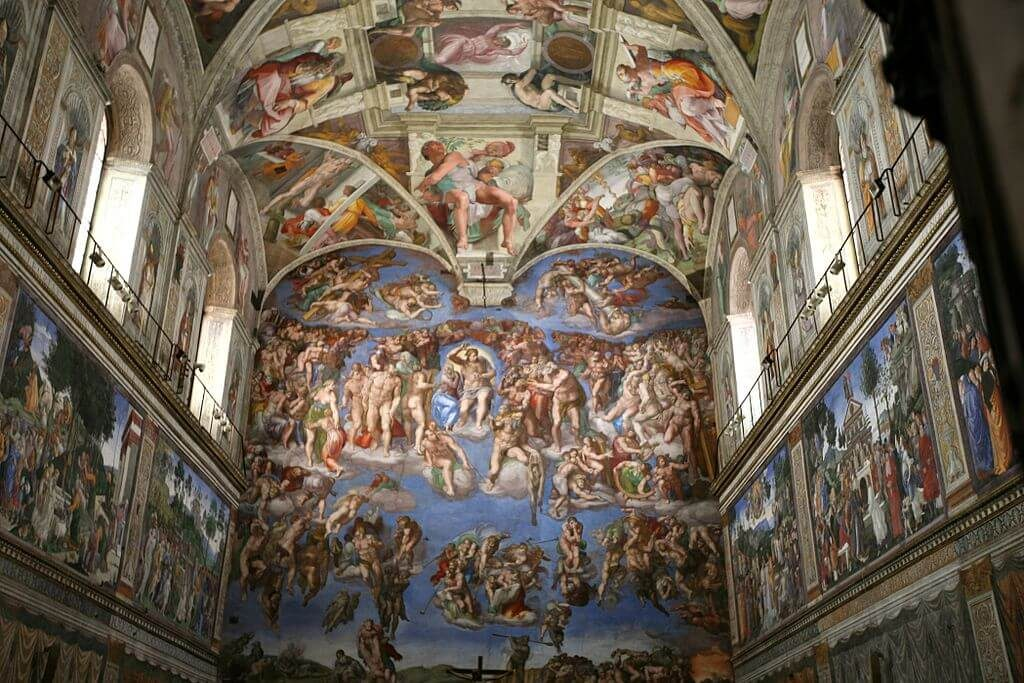 Experience virtual travel of the Sistine chapel