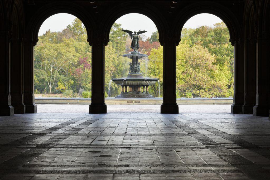 Central park's Bethesda fountain, Gossip Girl